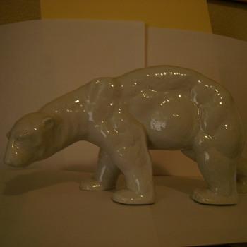 Schau Kunst Porcelain Polar Bear - Pottery