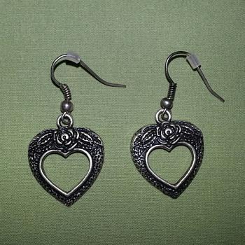 Heart Earrings - Costume Jewelry
