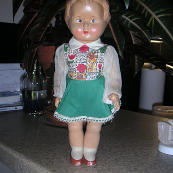 West German Doll - Dolls