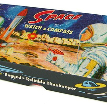 Dan Dare Space watch with Compass. - Toys