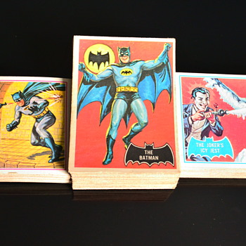 1966 O-Pee-Chee Batman Cards. All three sets! - Comic Books