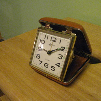 1950's-1960's Travel Alarm Clock - Clocks