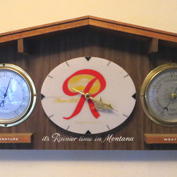 Rainier Clock/Weather Station