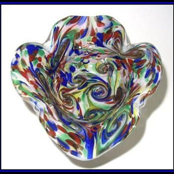 Just for Alan -- My Big -- FLAWED MURANO PIECE - Art Glass