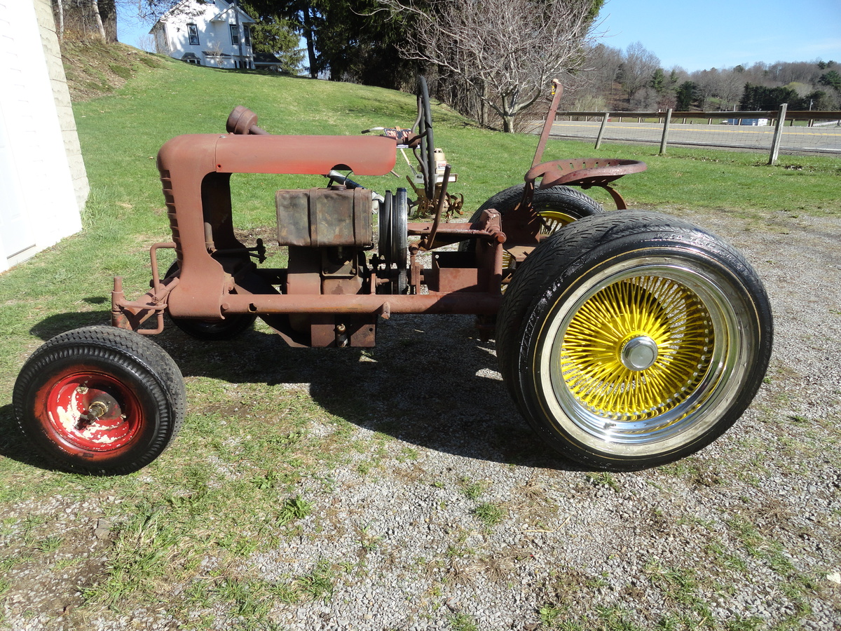Vintage Garden Tractors - Home Design Ideas and Pictures