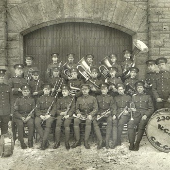 230th Forestry Battalion Band Brockville Ontario 1917. - Military and Wartime
