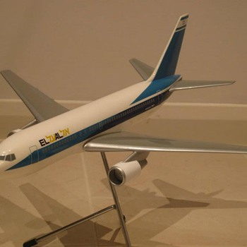 EL AL 767-200 model 1:100 scale  - Advertising