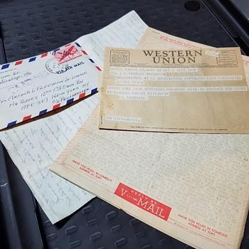 vintage correspondence - Paper