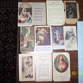 1920s 30s vintage religous cards - Cards