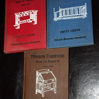 How to Make Mission Furniture Vols 1, 2, and 3
