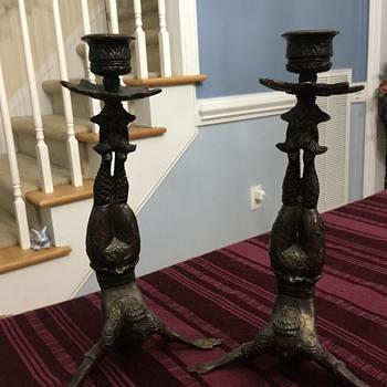 Weird candlesticks - Asian