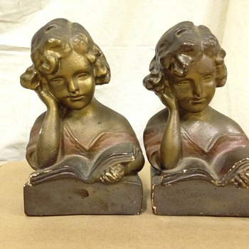 Love these old bookends
