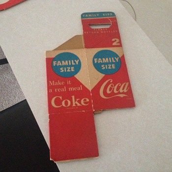 Coca Cola Carrier and Coasters