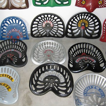 MORE..Cast Iron Seats - Tractors