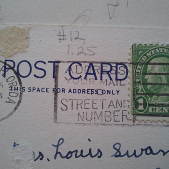 1c Old Stamps 1905-1935