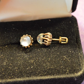 Earrings from my Great-Grandma