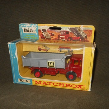 Mega Maximum Matchbox Monday King Size K-4 Leyland Tipper Truck 1969 - Model Cars