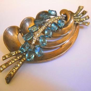 Nordic sterling vintage brooch - Costume Jewelry
