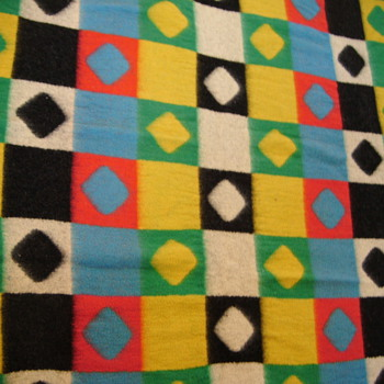 My colourful blanket