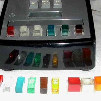 Colored Keyset Buttons - Telephones