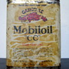 Vacuum Oil Co. Gargoyle Mobiloil Can w/ Lead Shipping Seal