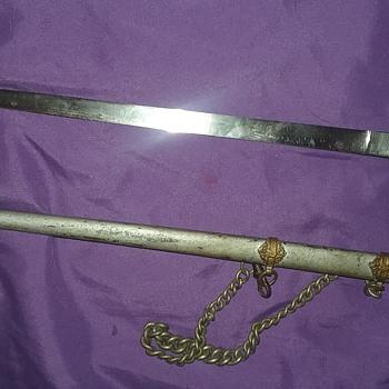 World war one sword