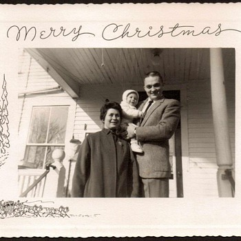 1959 - Christmas - Family Photograph - Photographs