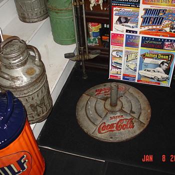 Original Coca-Cola Pedestal Base - Coca-Cola