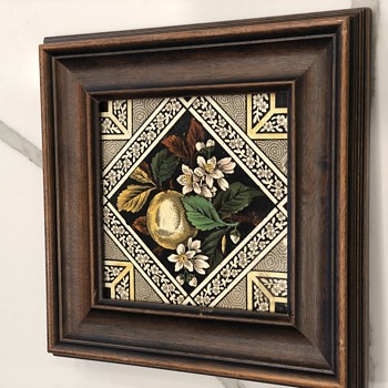 Framed Tile  - Pottery