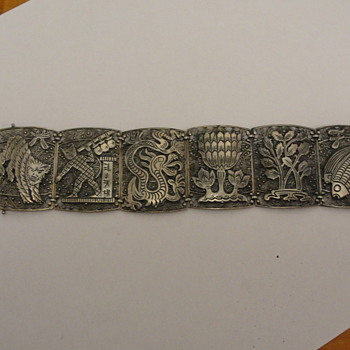 Silver Bracelet Figural  - Fine Jewelry