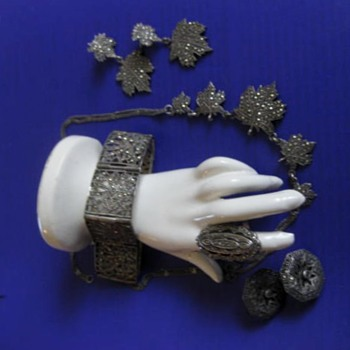 Marcasite Revival jewelry from Art Deco designs for Hel1: 2 of 2 posts - Silver