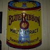 Pabst Blue Ribbon Malt Extract sign