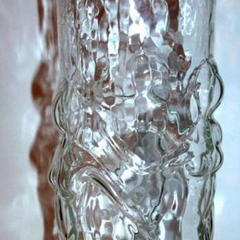 Old Glass Vase - Art Glass