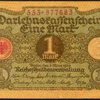 Germany - (1) Mark Bank Note