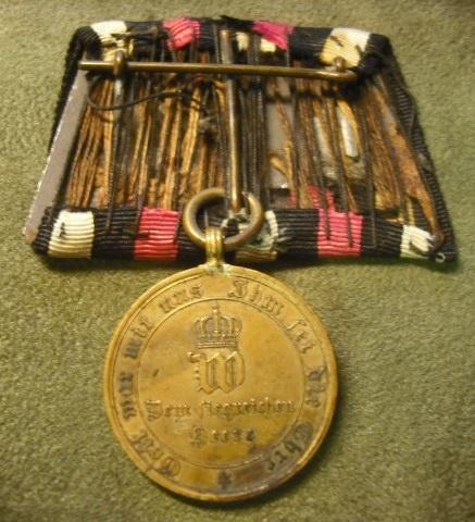 Flipped German War Medal of 1870-71   Collectors Weekly