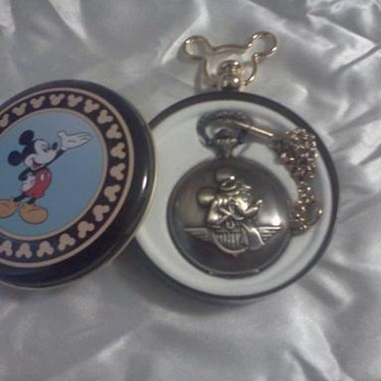 Mickey pocket watch - Pocket Watches