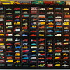 Vintage Matchbox Cars and Trucks from the 1950sand 1960s.