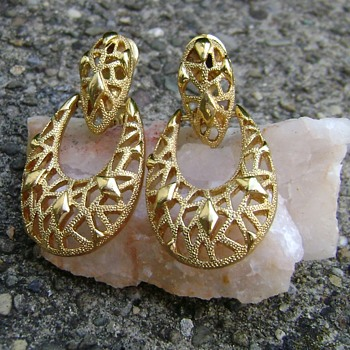 Monet Earrings - Costume Jewelry
