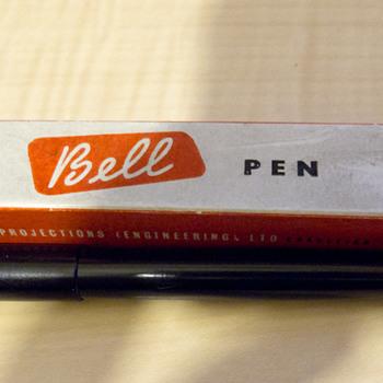 'The Bell Pen' post-war ballpoint, Cranleigh, UK