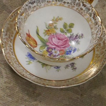Imperial china trio - China and Dinnerware