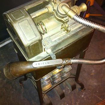 1920 something Ediphone (VoiceWriter)