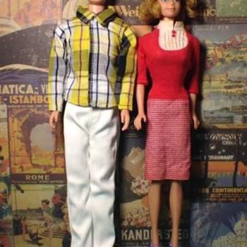 Vintage Allan and Mitch Barbie Dolls - Dolls