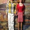 Vintage Allan and Mitch Barbie Dolls