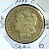 Raw 1899 Morgan Silver Dollar