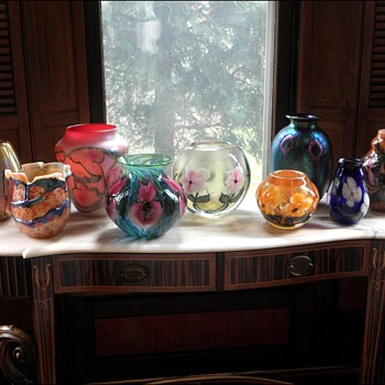 Lotton Glass Display - Art Glass