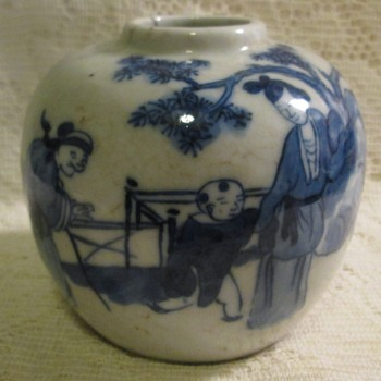 Love in the form of Asian vases - Asian