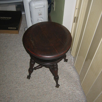 George Archer piano stool