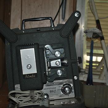 8mm projectors - Cameras
