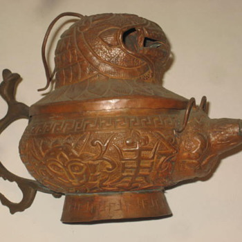 Old Teapot from China Tibet - Asian