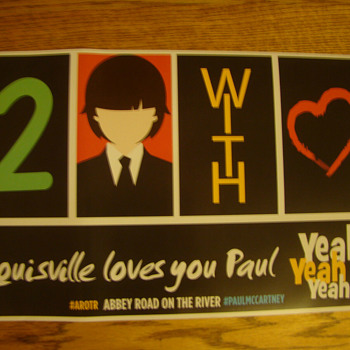 Paul McCartney tour poster-2014 - Posters and Prints